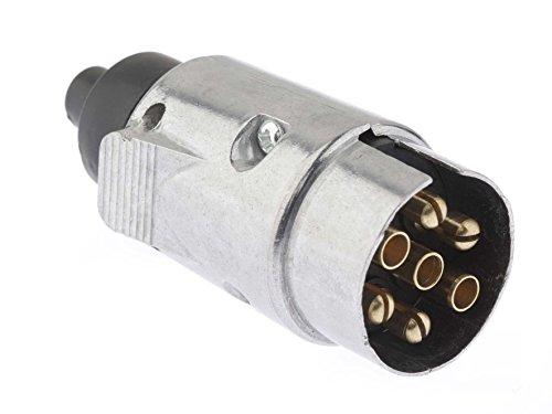 Dino 130075 12V aanhangerstekker 7-polig ISO 1724 type N