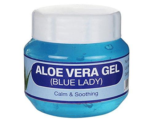 United's 100% Pure Aloe vera Gel For  Beauty  Skin Care  Face Moisturizer   Skin Conditioner   Skin Moisturizer   Hair Growth   Blue Lady  