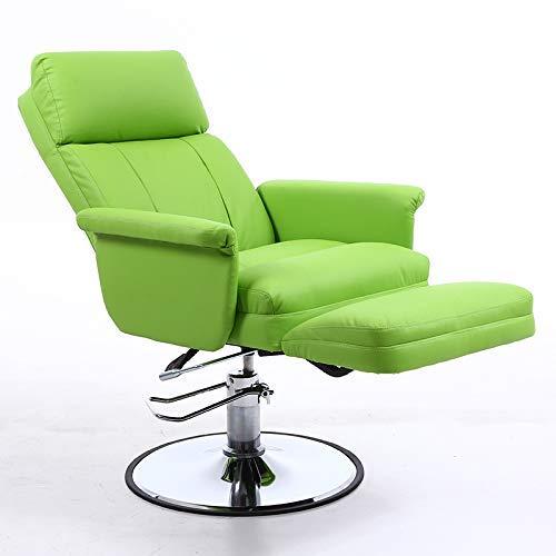 JIEER-C Ergonomische stoel, beautystoel, sofa, massagestoel, draagbaar, woonkamer, met wieltjes, draaibaar, staande stoel, verstelbare hoogte 1 exemplaar