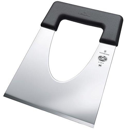 Victorinox Küchenmesser Käseschaufel Fibrox schwarz 16 cm Messer, weiß, 18 x 16 cm