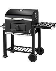 TecTake Barbacoa Barbecue Grill con Carbón Vegetal Parrilla Fumador - Varios Modelos -