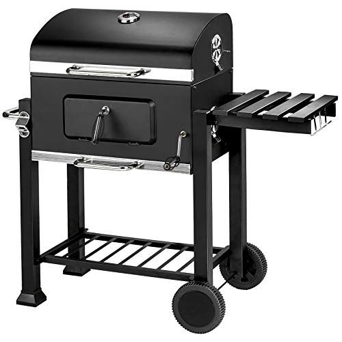 TecTake BBQ Barbecue A CARBONELLA - Modelli Differenti - (Griglia a carbonella (402174))