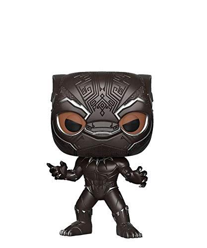 Popsplanet Funko Pop! Marvel – Black Panther Movie – Black Panther (Black Panther Movie) (Masked) Chase #273