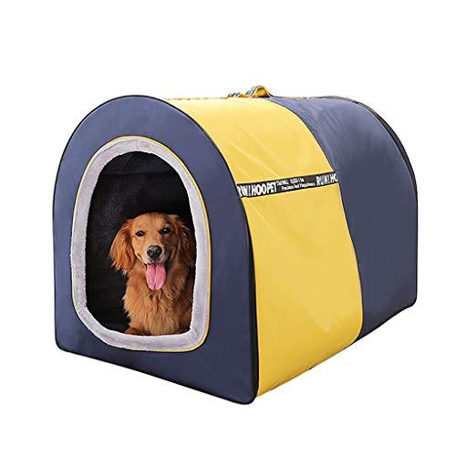 BFSHY Faltbarer Spielraum Kennel, leicht zu Falten und Hundebox Carry, für Hunde, Katzen, Kaninchen, Indoor Outdoor Nutzung, Comfy Dog Haus & Hund Transportbox,M