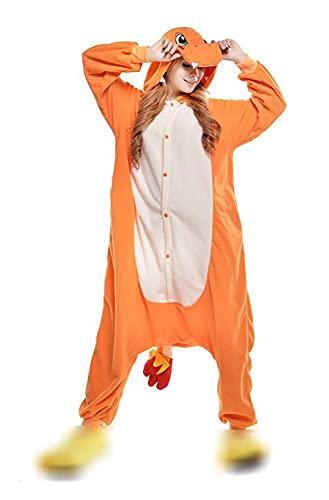 Unisex Adulto Animale Tutina Morbido Pile Pigiameria Donna Uomo Pigiami Natale Halloween Homewear Costume Cosplay Pigiama Party Dress Up Cartoon Party