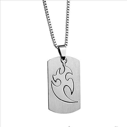 HLY Collar de temperamento simple, collar con forma de daga