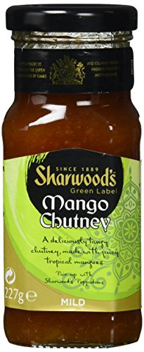 Sharwood`s Mango Chutney, 6er Pack (6 x 227 g)