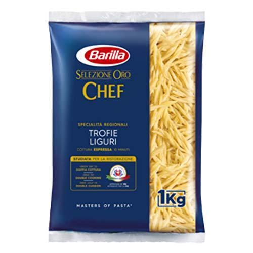 PASTA BARILLA SELEZIONE ORO CHEF TROFIE LIGURI PACCO 1 KG RISTORANTE FOOD SERVICE