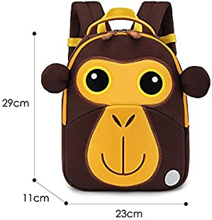 Click image to open expanded view Best Quality - Neoprene School Backpack - Monkey School Bags for Boys Girls Cute Animals Design Children Backpacks Student Schoolbag Kids Bag Okul Cantalari Mochila - by Osaro Shop - 1 PCs