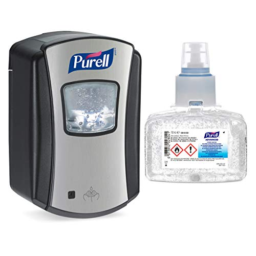PURELL Hand Sanitiser AUTOMATIC Dispenser and Refill Kit LTX-7 with 700ml...