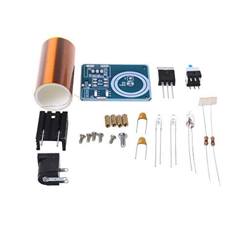 Yintiod 9-12 V BD243 Mini Tesla Spule Kit Elektronik DIY Teile Drahtlose Übertragung DIY Bord Set