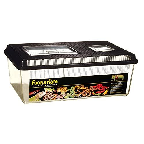 Exo Terra Faunarium, Allzweckbehälter für Reptilien, Amphibien, Mäuse und Insekten, groß flach, 46,5 x 30,5 x 18cm
