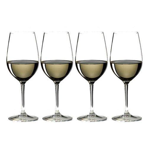 RIEDEL 7416/54 Vinum Zahl 3 Kauf 4 Riesling/Zinfandel, 4-teiliges Rot-/Weißweinglas Set, Kristallglas