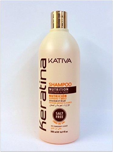 Kativa Keratin Shampoo 500ml.