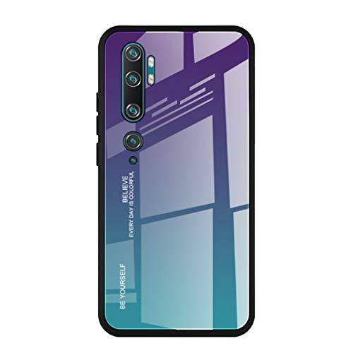 HAOYE Funda para Xiaomi Mi Note 10 Pro Fundas, Tapa Trasera de...