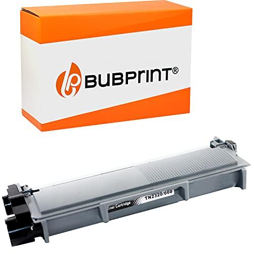 Bubprint Kompatibel Toner als Ersatz für Brother TN-2320 XXL TN-2310 für DCP-L2500D DCP-L2520DW HL-L2300D HL-L2340DW HL-L2360DN HL-L2365DW MFC-L2700DN MFC-L2700DW Schwarz