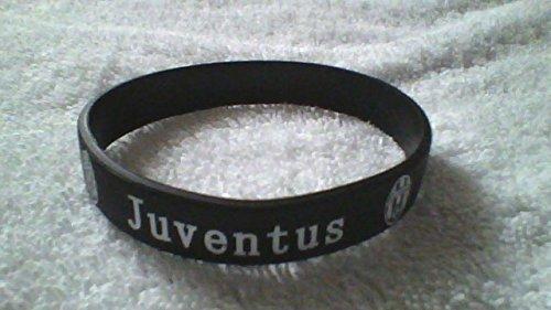 JUVENTUS Schwarz-Weiß-Silikon-Armband