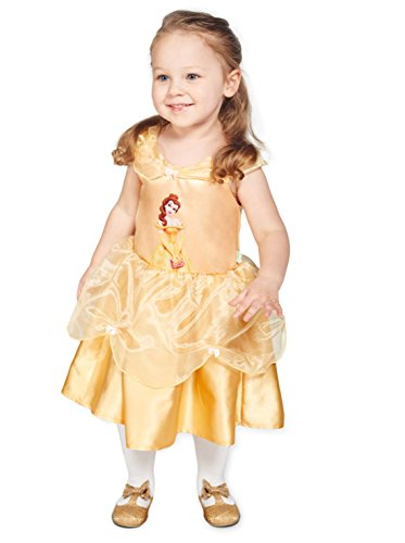 Disney Princesas Disfraz bebé, Color amarillo, 18-24 Meses (Travis Designs DCPRBEG18)