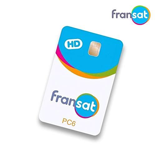 Tarjeta Canales franceses FRANSAT 4 años suscripción