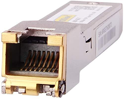 『1.25G SFP-T, 1000Base-T カッパーSFP, SFP to RJ45 SFP, 光トランシーバ, Cisco GLC-T/SFP-GE-T、Meraki MA-SFP-1GB-TX、Netgear、Ubiquiti UF-RJ45-1G、D-Link、Supermicro、TP-Link、Broadcomなど互換』の2枚目の画像