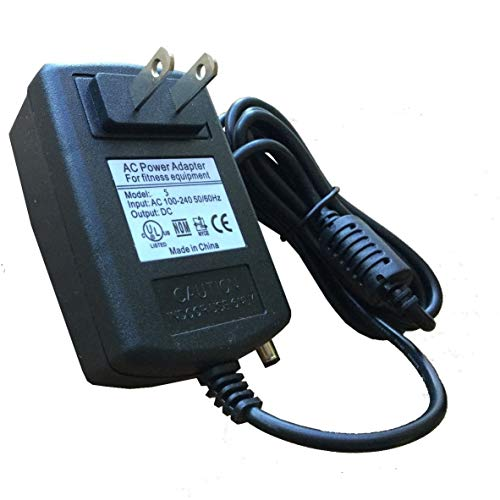 AC Power Supply Adapter for Nautilus R514 R514C R614 R616 R618 Recumbent Bikes