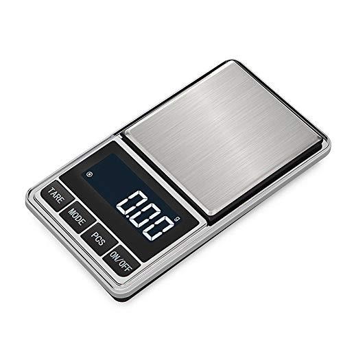 Mini Elektronische Weegschaal 0.01G Sieraden Weegschalen Gram Weegschalen Chinese Kruidengeneesmiddelen Voedsel Precisie Keukenweegschaal Bakken 0.1G Weegschaal -500G / 0.1G