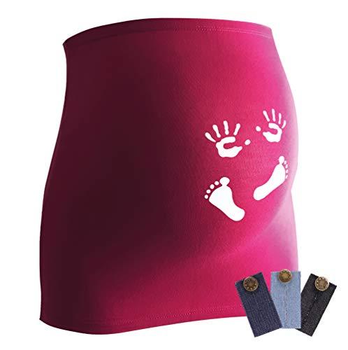 Bandeau de grossesse, accessoire astucieux pour femmes enceintes, disponible en différents coloris et tailles - Violet - 40/44