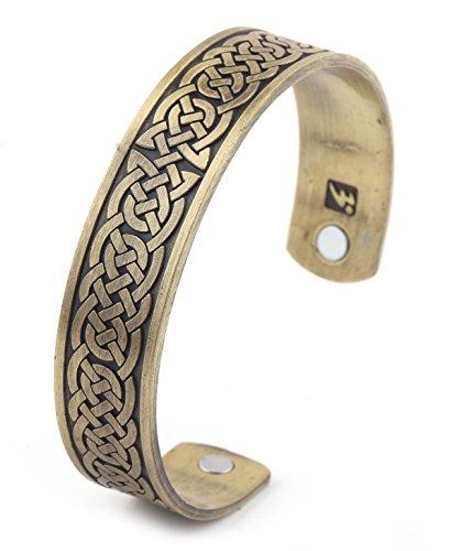 My Shape Atención de la Salud magnética Pulsera irlandés Nudo Pulsera para Hombres religiosos Viking Talisman joyería