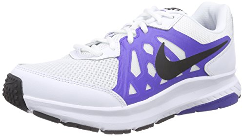 Nike Dart 11 - Scarpe sportive uomo, colore Multicolore ( White / Black-Prsn Violet-White ), taglia 46