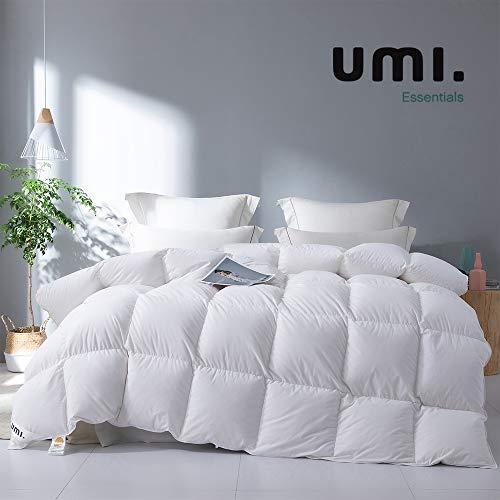 UMI. by Amazon - Piumino con Piuma e Piumino D'Oca, qualità alberghiera, ipoallergenico e Lussuoso, 13,5 Tog, King
