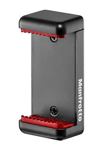 Manfrotto Universal Smartphone Clamp with Thread Connections, Black