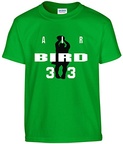 Shedd Shirts Green Bird Boston AIR T-Shirt Adult