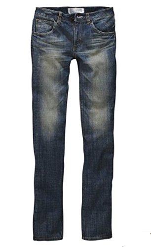 adidas - Jeans - Uni - Femme Bleu Bleu, cow-boy