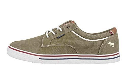 MUSTANG Shoes Halbschuhe in Übergrößen Grün 4147-303-777 große Herrenschuhe, Größe:50