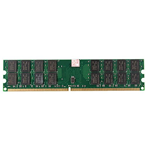 TOOGOO(R) Nuevo 4GB Memoria RAM DDR2 800MHZ PC2-6400 240 Pines Tarjeta madre de DIMM para AMD de computadora de escritorio