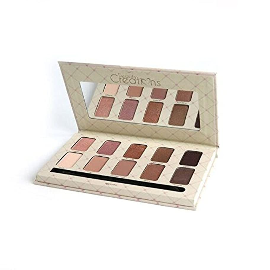 農場ヒギンズ区別するBEAUTY CREATIONS The Nudes Eyeshadow Palette (並行輸入品)