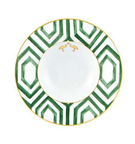 Vista Alegre Amazonia - Juego de 4 platos de porcelana para sopa