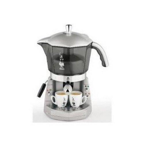 Bialetti - 012400034 - MACCHINA DA CAFFÈ MOKONA TRIVALENTE CAPSULE CAFFÈ MACINATO CIALDE LIGHT GREY