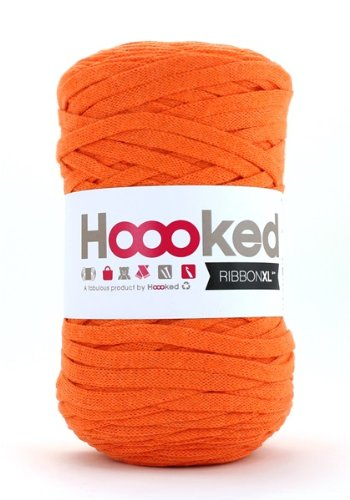 Hoooked RibbonXL Arancione Olandese, 120 m