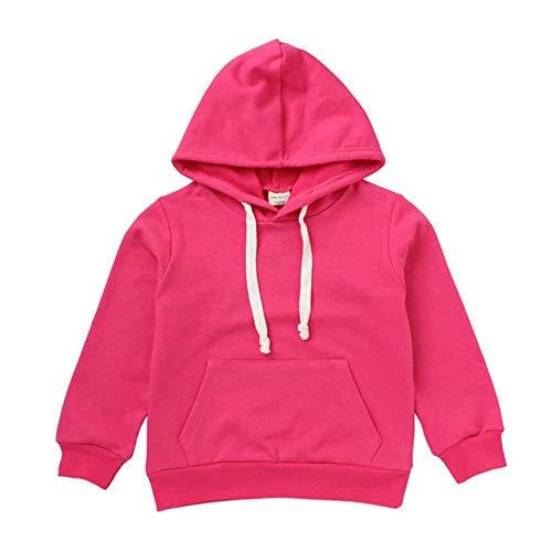 URSING URSING Baby Kapuzenpullover Herbst Kid Jungen Basic Einfarbig Pullover mit Kapuze Hoodie Outfits Tops Taschen Kinder Kleidung Kapuzenshirt Kapuzenpullis Kapuzensweatshirt Sportpullover