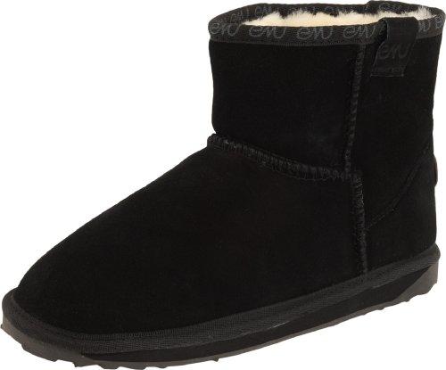 EMU Australia Wallaby Mini Boot (Toddler/Little Kid/Big Kid),Black,11 M US Little Kid