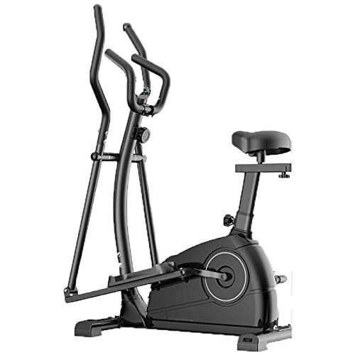 YOUTH BURST Crosstrainer Home Ellittica Cross Trainer Ellittica Cyclette 2 in 1 Training Bike Fitness Cardio Ideale per Il Fitness Indoor Max.120KG,A