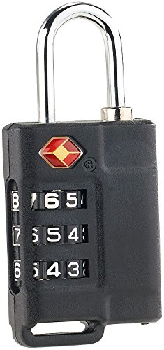 PEARL Kofferschloss: Reisekoffer- & Gepäckschloss, 3-stelliger Zahlencode, TSA-zertifiziert (TSA Schloss)