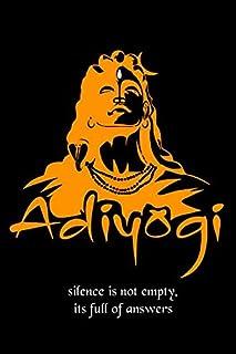 British Terminal® Adiyogi The Source of Yoga Wall Art Shiva Inspirational Waterproof Vinyl Sticker Poster || (24inch X 36i...
