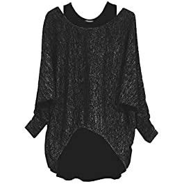 Emma & Giovanni – Oversized Jumper – Long Sleeve – (2 Pieces) Made in Italy – Women