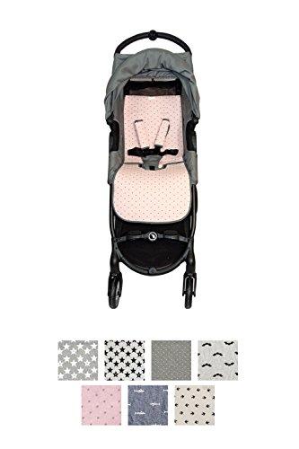 Fundas BCN ® - F160/4597 - Colchoneta Para Silla de Paseo BabyJogger ® Citymini Zip ® - Little Fun Peach