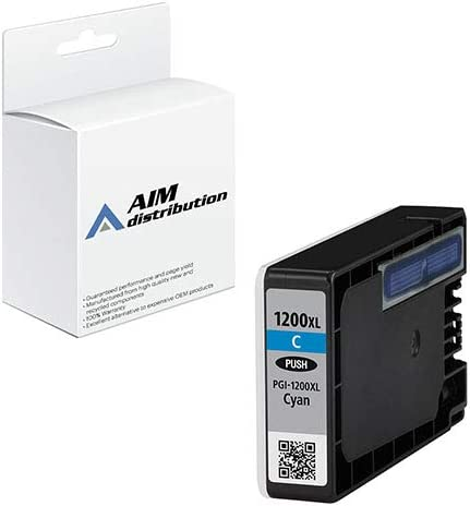 AIM Compatible Replacement for Canon PGI-1200C Cyan High Yield Inkjet (900 Page Yield) - Generic