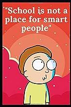"""School notebook """"Rick and Morty"""", paperback, exercise book, 100 pages, white paper: School notebook, Rick and Morty, Motiv..."""