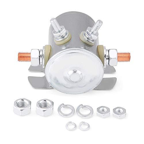 Magnetrelaisschalter, 12-V-Dauermagnetrelaisschalter 150 Ampere für Golfwagen und Winde und Marine In Rush Hochleistungs-SPST-Magnet