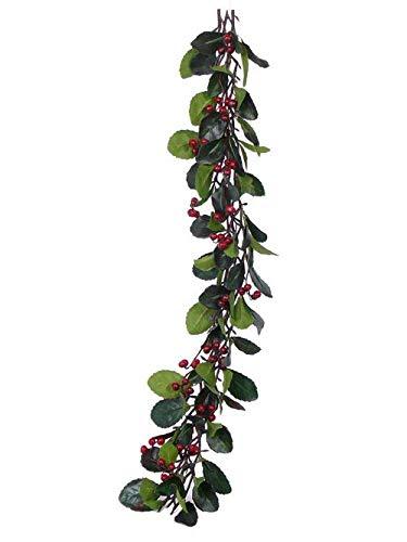 artplants.de Set 6 x Kunst Scheinbeeren...